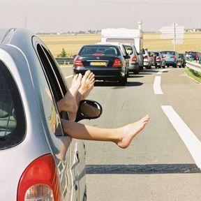 Pris dans un embouteillage, vous fulminez !
