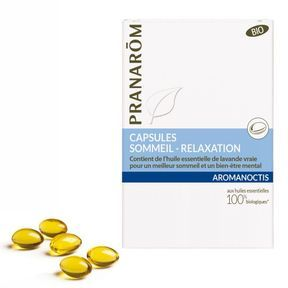 Capsules Sommeil Relaxation Bio, Pranarom