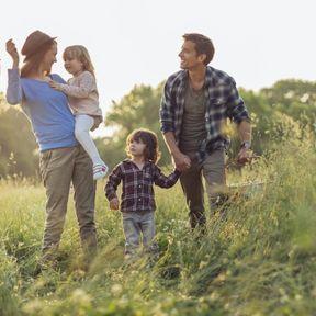 Passez plus de temps en famille en pleine nature