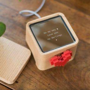 Love box, la boîte à amour connectée