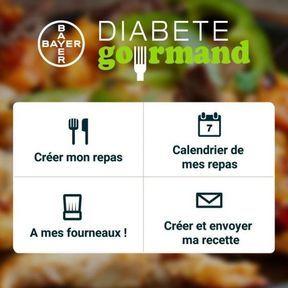 Diabète Gourmand : pour connaître les apports nutritionnels des repas