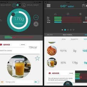 DietSensor : pour apprendre à gérer son alimentation au quotidien