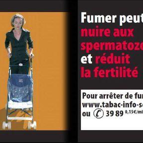 Fumer peut nuire aux spermatozoïdes et réduit la fertilité