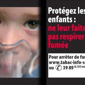 Protégez les enfants : ne leur faites pas respirer votre fumée