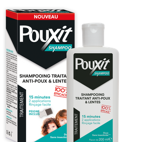 Shampoing traitant anti-poux et lentes, Pouxit