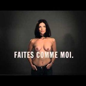 """Campagne """"Le cancer du sein, parlons-en"""" avec Pauline Delpech"""