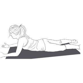 Respiration abdominale épaules relâchées