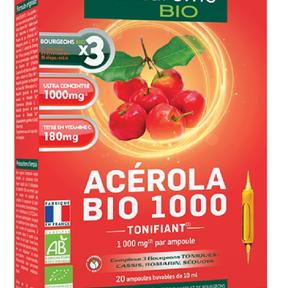 Ampoules Acérola Bio 1000, Santarome Bio