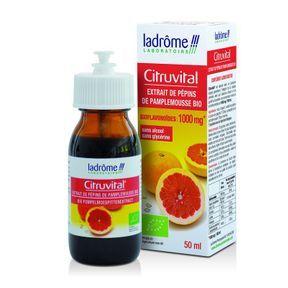 Citruvital Extrait de pépins de pamplemousse bio, Ladrôme