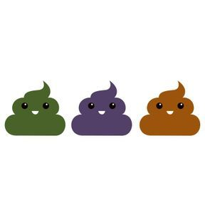 Vos selles sont vertes, violettes ou orange