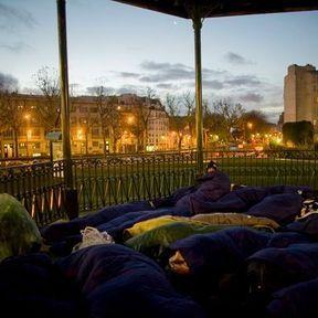 Paris, square Villemin, octobre 2008