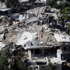 Petionville sous les décombres