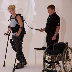 Marcher de nouveau grâce à un exosquelette imprimé en 3D