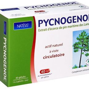 Gélules au Pycnogenol -Natésis