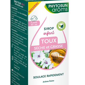 Sirop toux sèche et grasse Enfants, Phytosuns Aroms
