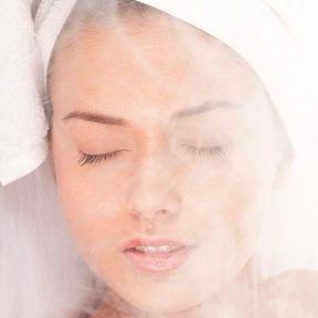 Un sauna facial