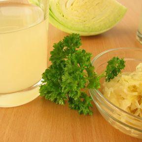Du jus de choucroute lacto-fermenté