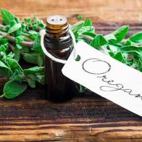 Quelques gouttes d'huile essentielle d'origan