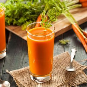 Un jus de carotte