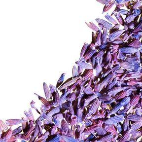 De l'huile essentielle de lavande fine