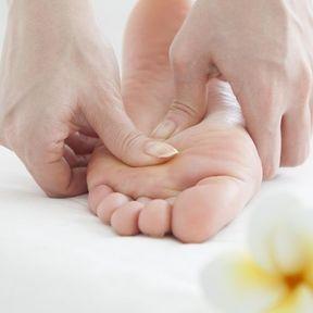 Un massage des pieds