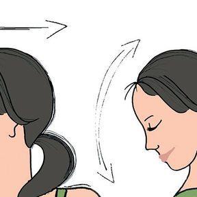 Exercice du cou pour se programmer au calme