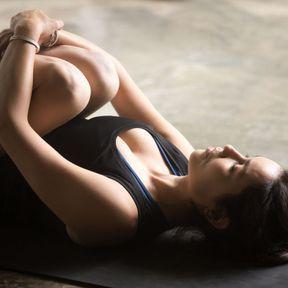 La posture de libération des vents (Pavana Muktasana)