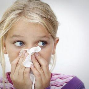 Diphtérie et saignement par une narine