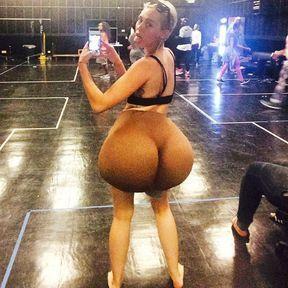 Le belfie de Miley Cyrus