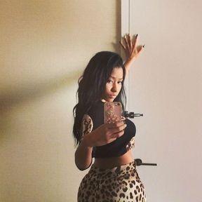 Le belfie de Nicki Minaj