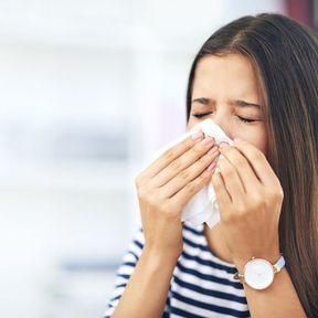Les baisers réduisent les allergies