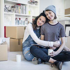 Couple lesbien libre