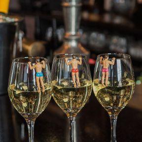Marqueurs de verre Drinking Buddies