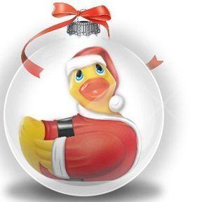 Santa Ducky pour un Noël vibrant