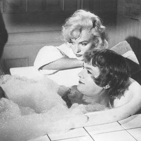 Tony Curtis et Marilyn Monroe (Certains l'aiment chaud)
