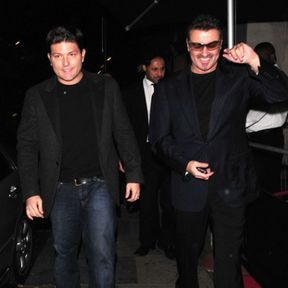 George Michael et Kenny Goss