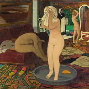 Femmes à leur toilette. Felix Vallotton