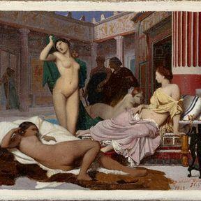 Intérieur grec. Jean-Léon Gérôme.
