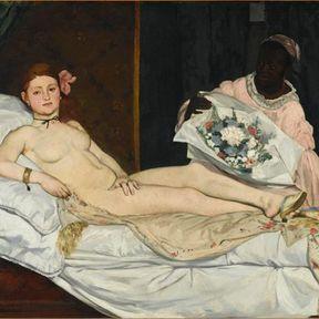 Olympia. Edouard Manet.
