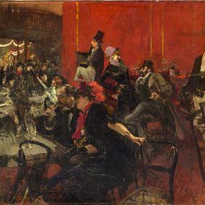 Scène de fête au Moulin Rouge. Giovanni Boldinni