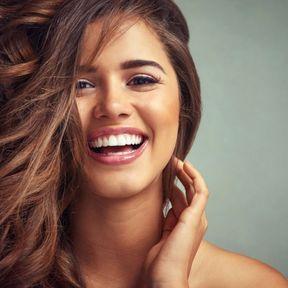 Femme qui rit…