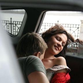 La banquette arrière… d'un taxi