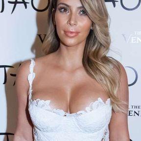 Les seins de Kim Kardashian