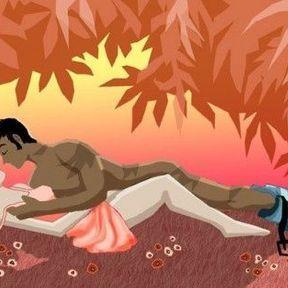 L'herboriste pour l'amour en pleine nature