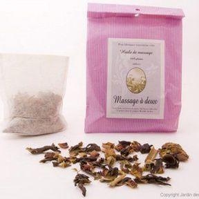 Potion pour huile de massage enchanteresse