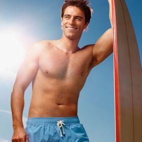 La planche du surfeur
