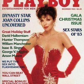 Joan Collins, la diva. Décembre 1983