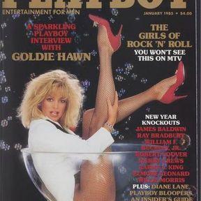 Pétillante Goldie Hawn. Janvier 1985