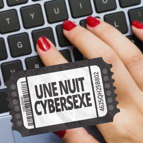 Une nuit cybersexe