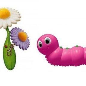 Sex toys Wormie et Bouquets de Fleurs